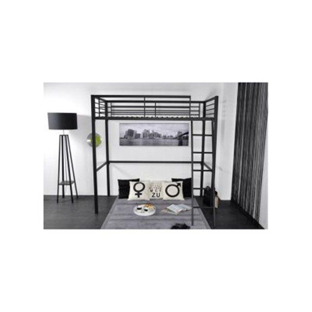 1000 id es sur le th me lit mezzanine 90x190 sur pinterest lit mezzanine 2 places le produit. Black Bedroom Furniture Sets. Home Design Ideas