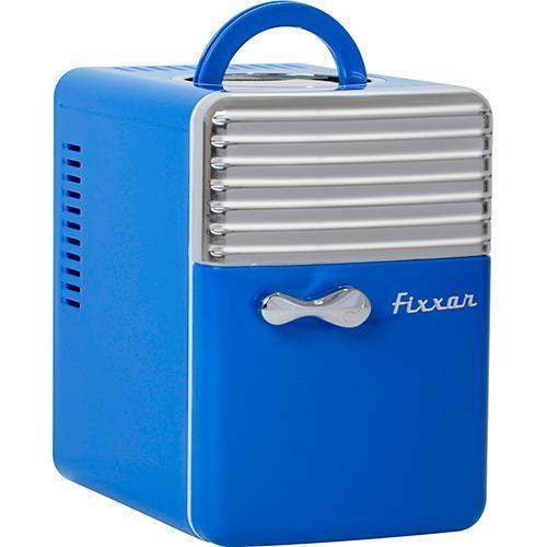Mini Refrigerador e Aquecedor Portátil 5L Retrô Azul - Fixxar