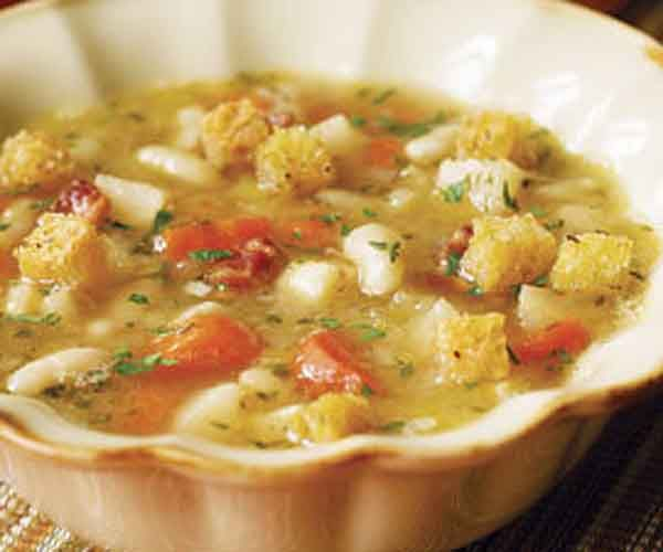 This hearty soup makes the most of root vegetables, paired with baby lima beans. If you're short on time, you can substitute 3 cups canned limas (rinsed and drained) for the dried beans, and skip the steps of soaking and cooking them, though the flavor won't be quite as rich.