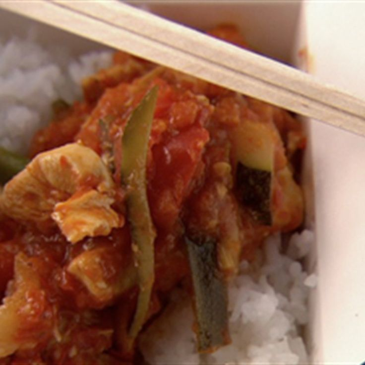 Chilli chicken with jasmine rice recipe jasmine rice jasmine chilli chicken with jasmine rice lifestyle food forumfinder Images