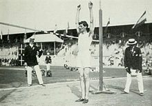 High jump - jeux olympique 1912