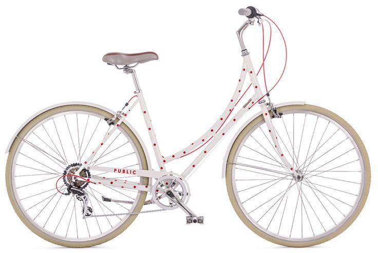 new PUBLIC Polka Dot bike