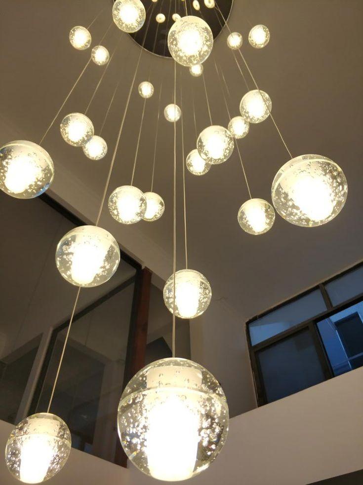 Ledペンダントライト シャンデリア 照明器具 吹き抜け照明 流星雨型 オシャレ照明 店舗照明 Led対応 玄関
