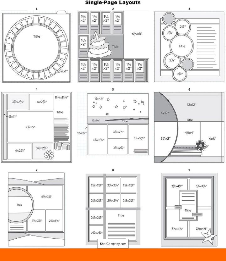 Scrapbook Layouts For Poems Scrapbook Retreat Layouts And