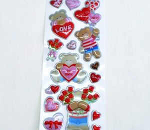 Valentine Sticker Collection on sale for R24/5 Sheets. This product comes in various design options | Paradise Creative Crafts cc