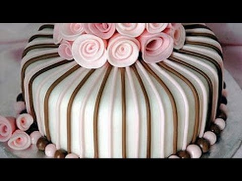 HOT CAKE TRENDS 2016 Buttercream Pinecone Christmas Wreath cake - How to make by Olga Zaytseva - YouTube