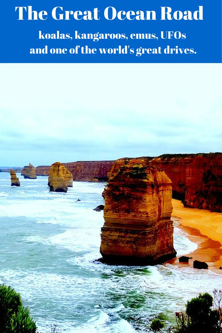 The Great Ocean Rd, Victoria - koalas, kangaroos, emus, UFOs and one of the world's great drives.
