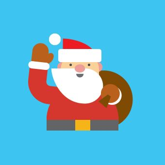 "Google Santa Tracker: Follow Santa's progress as he makes his way around the world! Including number of presents delivered and personal status updates such as ""I'm getting too big for these chimneys!"""