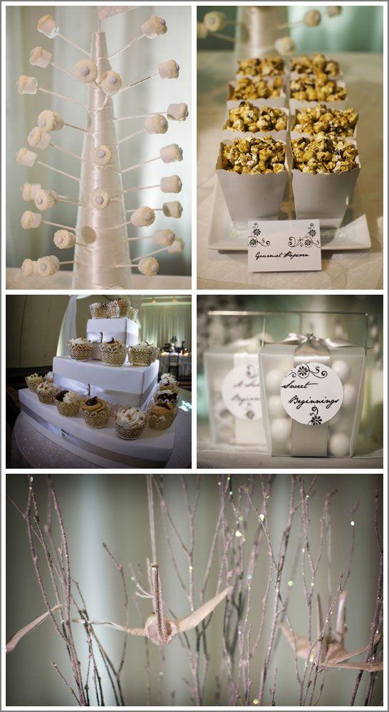 White Dessert Table