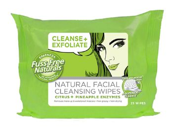 Cleanse + Exfoliate Wipes - Essenzza Fuss Free Naturals