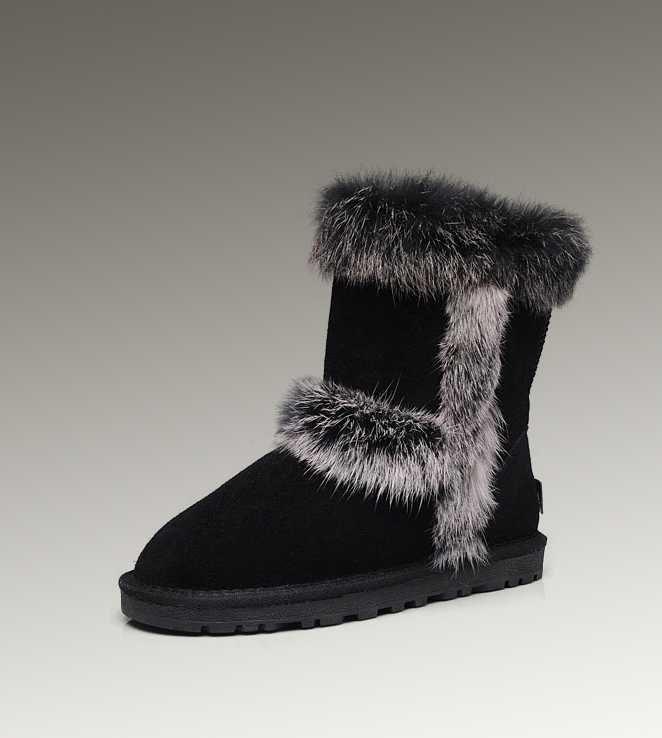 UGG Fox Fur Short Kids For UK
