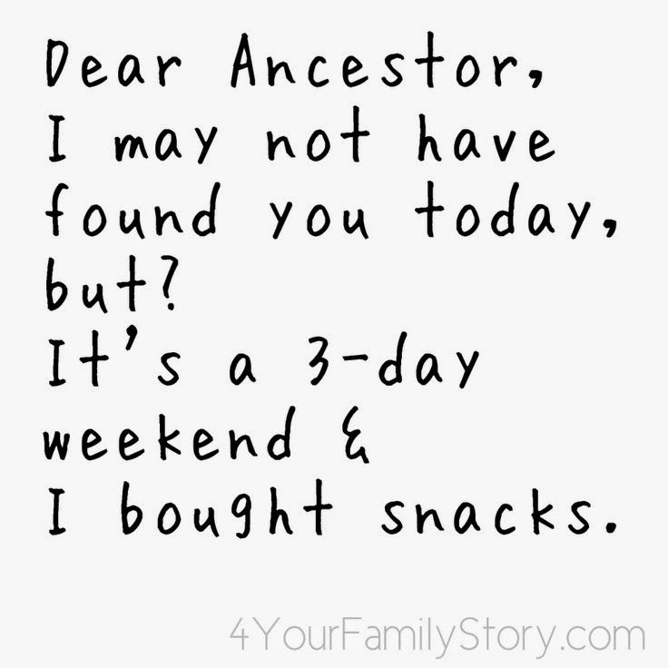 Under The Nut Tree Genealogy: Friday Funny #genealogy #familyhistory