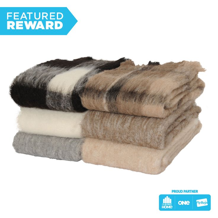 Windermere 100% Alpaca Throw #flybuysnz #695points #OFHNZ