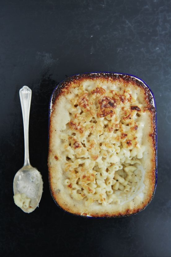 """Serves: 2-3   cooking time: 30 minutes   Rating: Moderate """"This is simple healthier take on the traditional mac and cheese. Using goats cheese instead of cow's"""