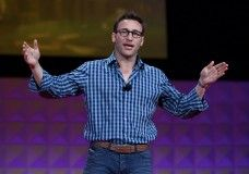 Simon Sinek's tips for leadership. His book Start with Why is a must read for inspiring your inner leader!