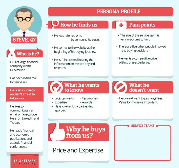 10 Examples of Detailed Content Marketing Personas - L&T Co.