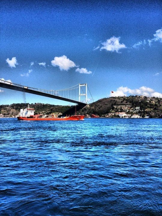 Bosphorus Bridge...Istanbul, Turkey