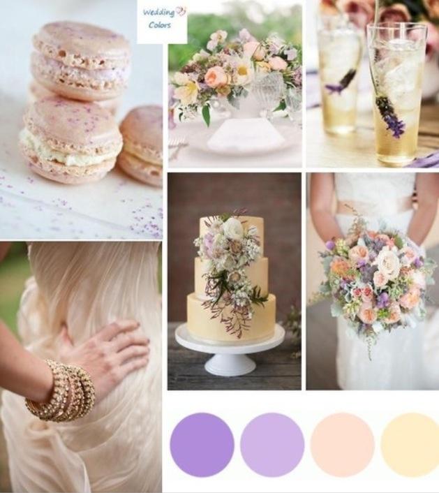 Peach U0026 Lavender Palette