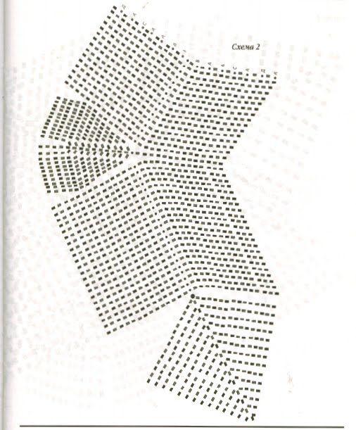 melhores graficos de meias de crochê