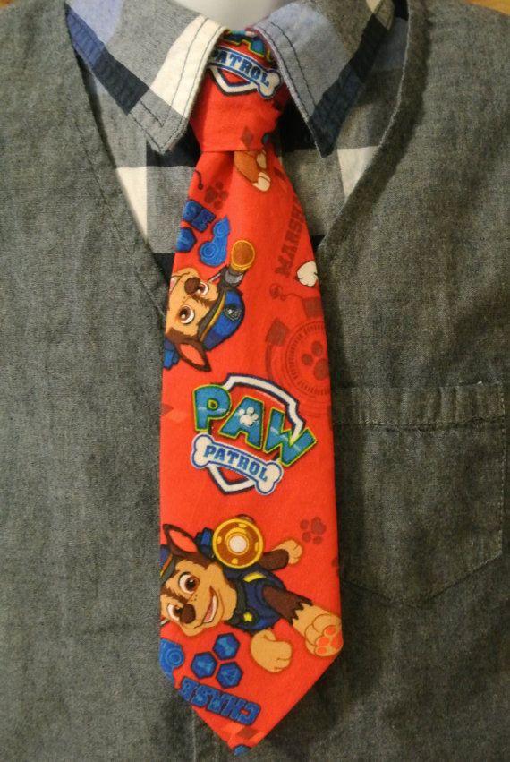 Paw Patrol Necktie https://www.etsy.com/listing/265172329/clip-on-tie-paw-patrol-tie-little-boys