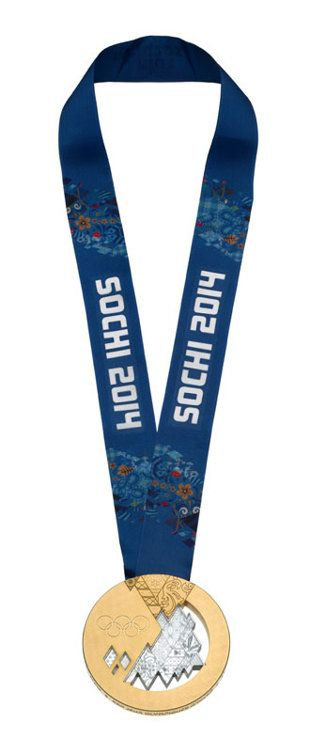 Sochi unveils medals for 2014 Winter Olympics - By: Jay Busbee | Fourth-Place Medal - Yahoo! Sports Blog