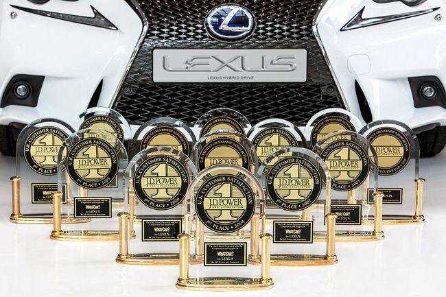 Владельцы моделей СТ 200h и RX 450h предоставили Lexus возможность в 12-й раз возглавить список ведущих автопроизводителей в британском рейтинге удовлетворенности клиентов от «What Car?»/JD Power.