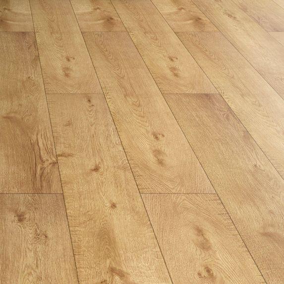 Natural Oak Effect Laminate Flooring Part - 26: Amadeo Oak Effect Laminate Flooring 2.22 M² Pack | Vaulted Ceilings And  Ceilings
