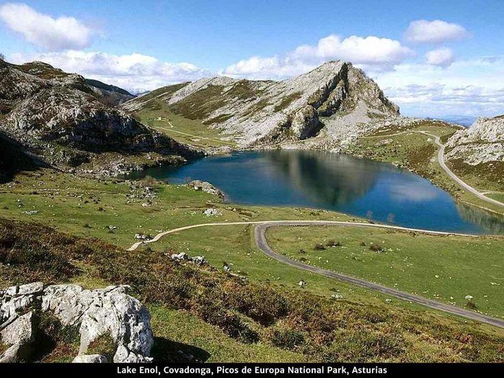 Lago Enol, Covadonga, Asturias.
