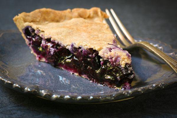 Blueberry Pie gluten-free sugarfree healthy recipe