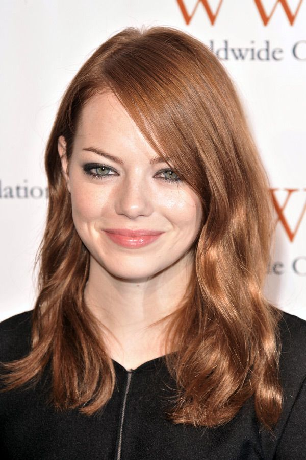 light auburn brown hair | BEAUTY: Women's Hair Inspiration ...