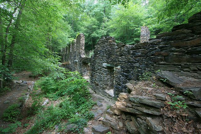 Sope Creek Mill Ruins of the Marietta Paper Mill, Atlanta, Georgia-Visitable