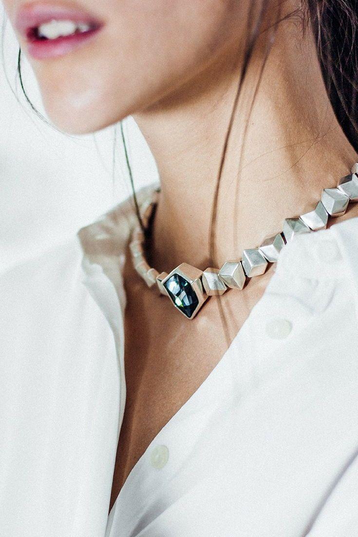 crystal necklace women jewelry uno no de 50 jewelry