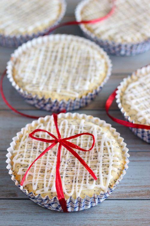 Individual Lemon Poppy Seed Cakes