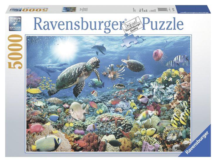 Beneath the Sea 5000 Piece Puzzle: Ravensburger: Amazon.co.uk: Toys & Games
