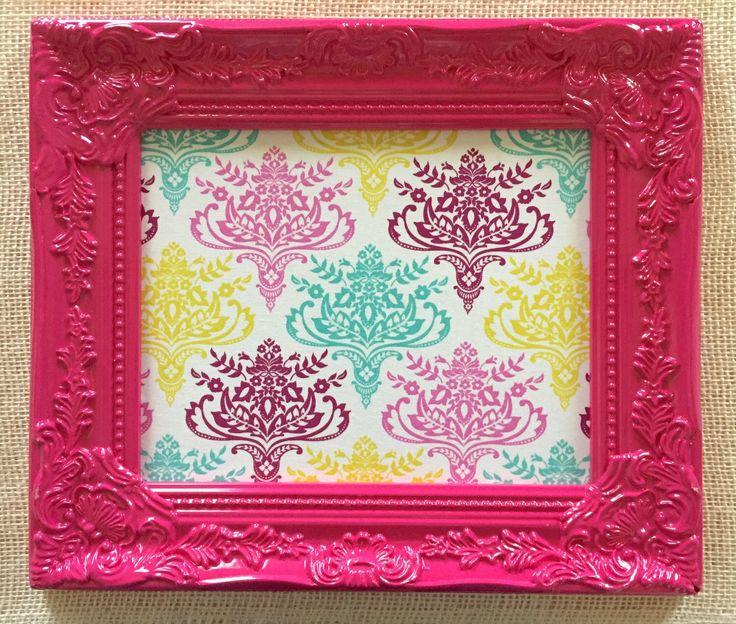 Enchanting Pink 8x10 Picture Frame Crest - Ideas de Marcos ...
