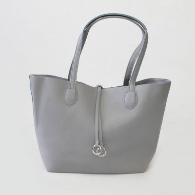 Redcurrent Grey Classic Tote Bag $79.50.