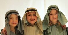 Don't Forget Your Tea Towel – Nativity costumes made easy
