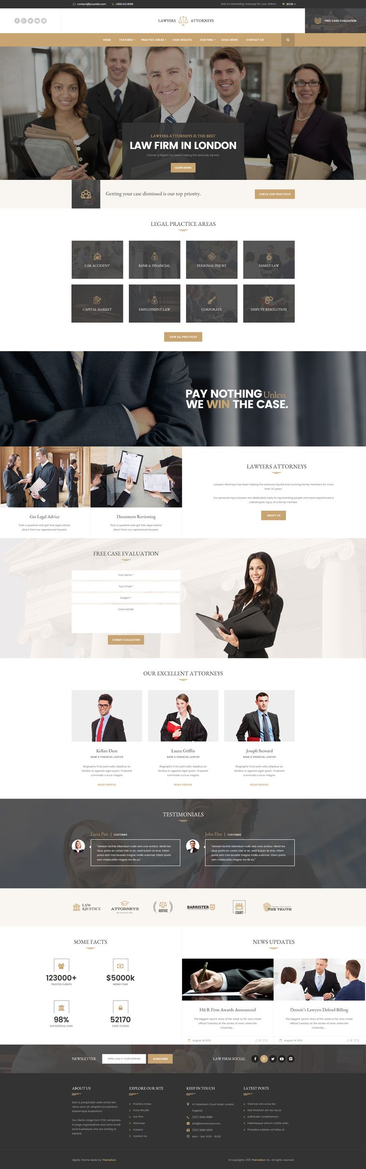 Best 25+ Law firm website ideas on Pinterest | Law web, Web design ...