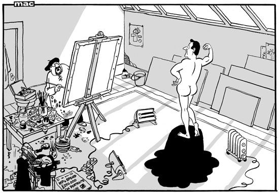 15 January 2014 - referencing the Parliamentary portraits (including a nude Diane Abbott) at the cost of the tax-payer. Via @Daily Mail