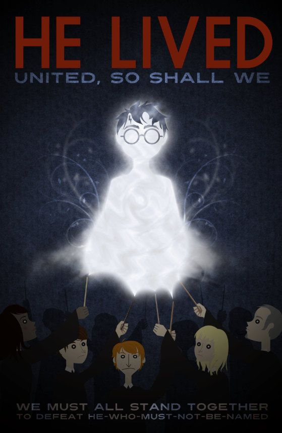 WWII-style Harry Potter propaganda posters - I will definitely be hanging things like this around the walls of my classroom!