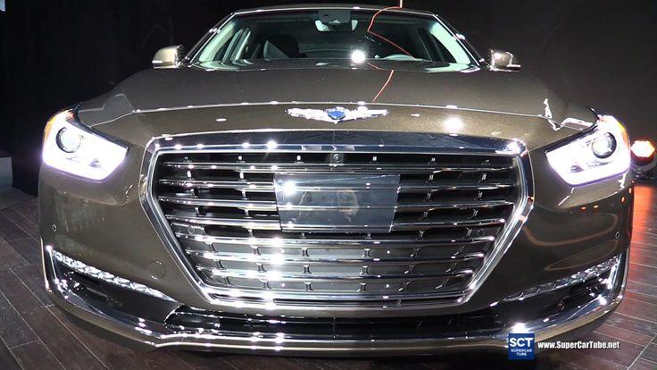 Fantastic 2017 Genesis G90 50 HTRAC  Exterior And Interior Walkaround  2016