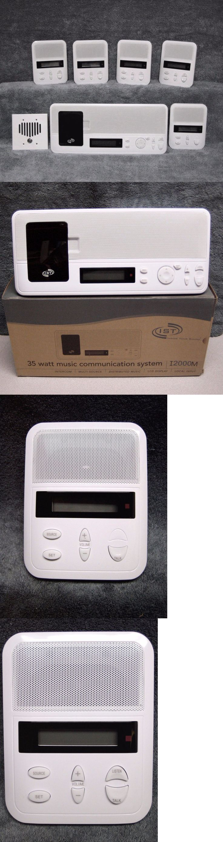 Intercoms and Access Controls: (5) Room / Patio Kit Ist Intrasonic I2000m Home Intercom System Ipod Dock - New -> BUY IT NOW ONLY: $854.0 on eBay!