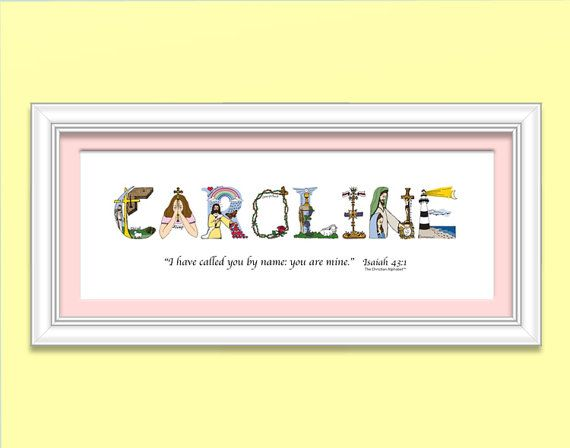 25 unique unique baby girl gifts ideas on pinterest height girls baby christening gifts personalized christian gifts christian name art with frame christening gifts baptism gifts negle Image collections
