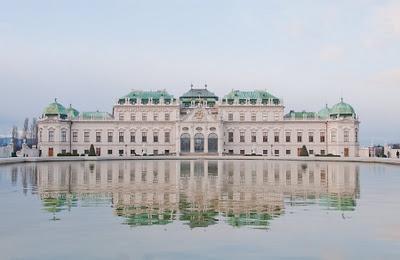 Vienna: The Belvedere Palace...  Merisi's Vienna: http://www.viennaforbeginners.com