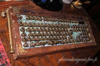Clavier steampunk