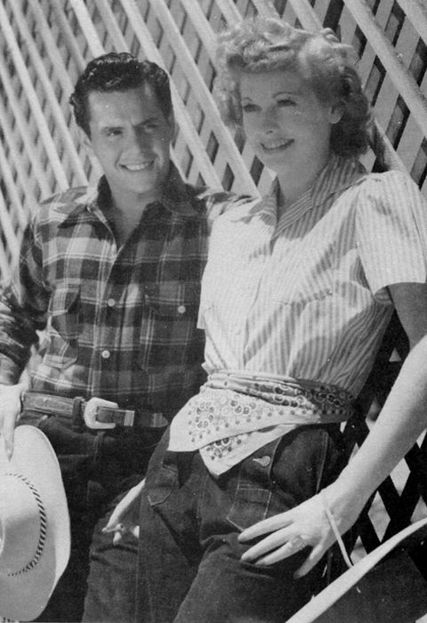Lucille Ball & Desi Arnaz    Desi Arnaz was a Cuban-born American musician, actor and television producer. While he gained international renown for leading a Latin music band, the Desi Arnaz Orchestra, he is best known for his role.    Born: March 2, 1917, Santiago de Cuba  Died: December 2, 1986, Del Mar