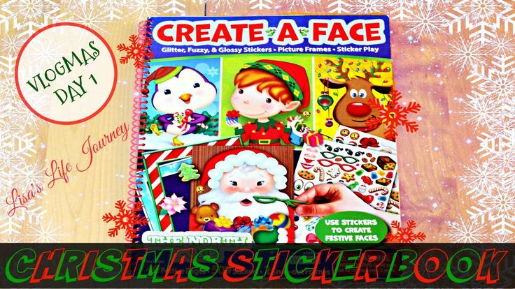 Christmas Sticker Book || VLOGMAS DAY 1 #vlogmas #vlogmasday1 #dailyvlog #christmasstickerbook #christmas #stickers #playdoh #attentiondeficitdisorder #depression #anxiety #motherhood #toddler #terribletwos #lisaslifejourney