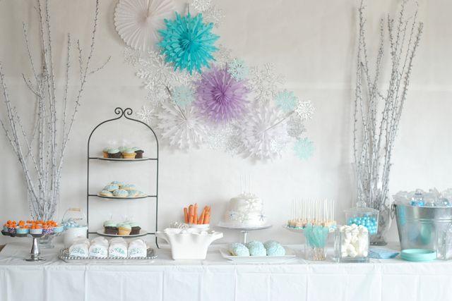 a very frozen birthday | CatchMyParty.com