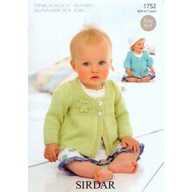 Coats in Sirdar Snuggly Baby Bamboo DK - 1752