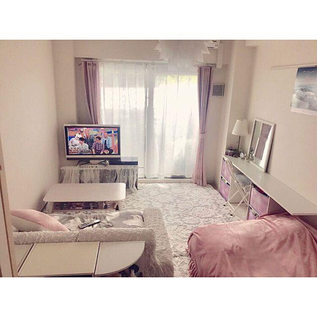 6畳 8畳でも快適 小スペースを充実させたお部屋アイデア 狭いリビング レイアウト 部屋 レイアウト リビング 狭い